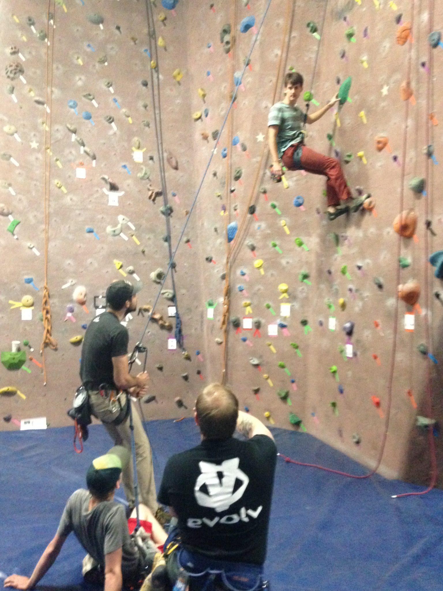 Climbing Wall Instructor Certification Austin Ascents